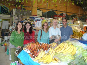 Visit to local market