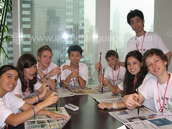 Students in our Shanghai school