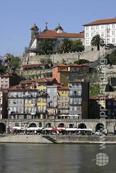 Porto from the river