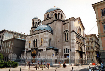 Orthodox church, Trieste