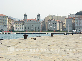 Trieste from the quay