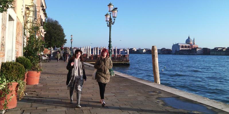 Erkunde Venedig