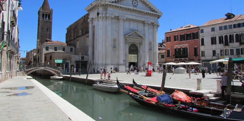 Kanäle von Venedig