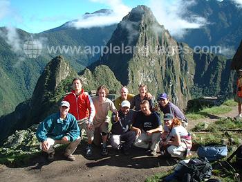 Visit to Macchu Pichu
