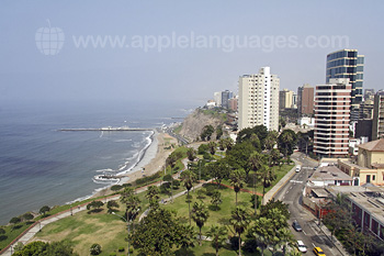 Lima has a stunning location!