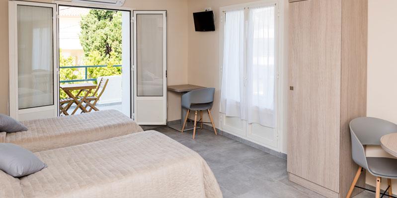 Ein-Raum-Wohnung in der Unterkunft