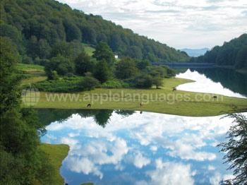 Beautiful surrounding countryside