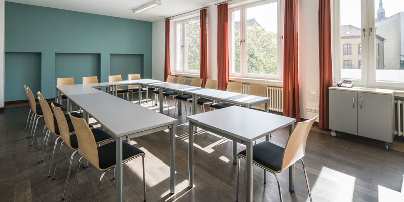helle, muntere Klassenzimmer