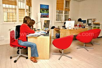 Verwaltungsbüro der Schule