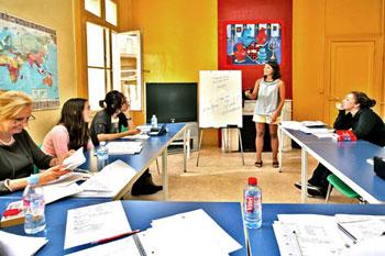 Französischklasse an unserer Schule