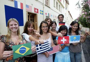 Make friends from around the world