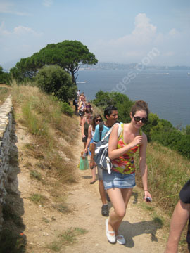 Hiking in the Esterel mountains