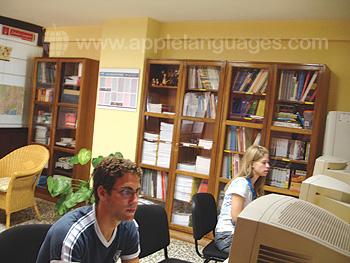 Internetcafé der Schule