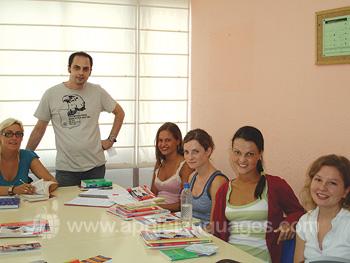 Spanischunterricht an unserer Schule