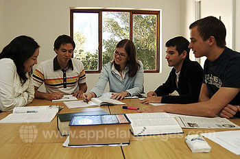 English lesson at the Newlands campus