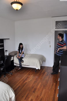Shared apartment accommodation