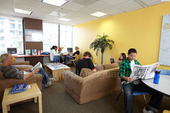 The student lounge