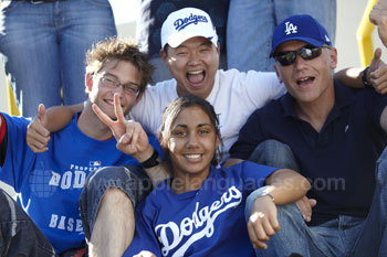Excursion to a Dodgers game