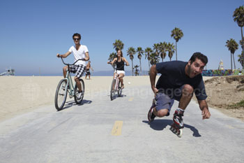 Why not try rollerblading?
