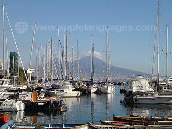 Der Yachthafen in Neapel