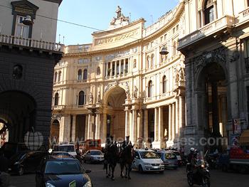 Historisches Neapel