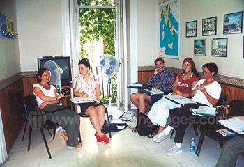 Italienischunterricht an unserer Schule