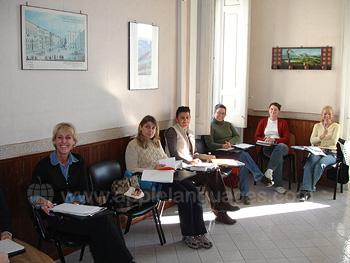 Typisches Klassenzimmer an unserer Schule