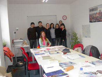 Deutschklasse an unserer Schule in München
