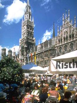 Café-Leben in München