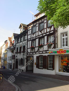 A typical street in Radolfzell