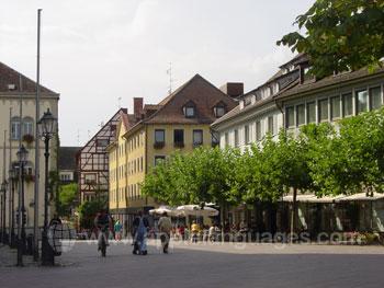 The town of Radolfzell