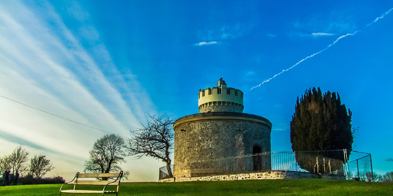 Das Clifton Observatory, Bristol