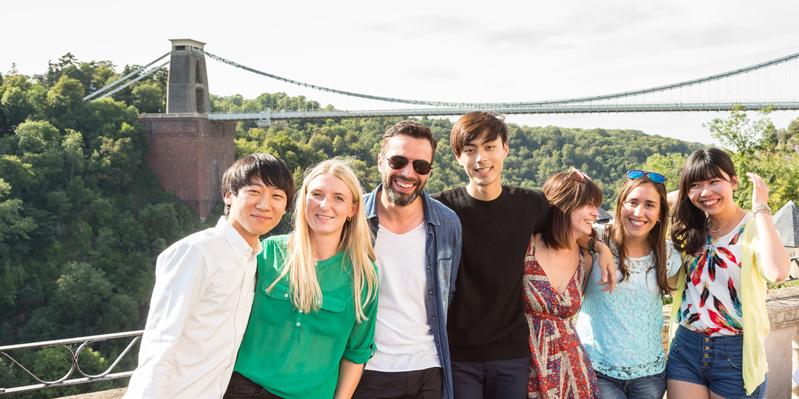 Visiting the Clifton Suspension Bridge