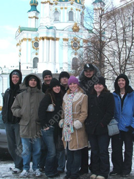 Winter at the St. Sophia Cathedral