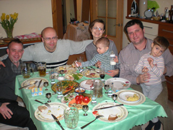 One of our friendly Host Families