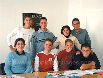 Schüler an unserer Schule