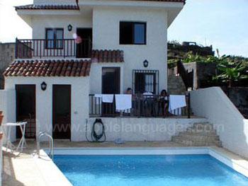 Unterkunft in einem Landhaus (Finca) mit Pool