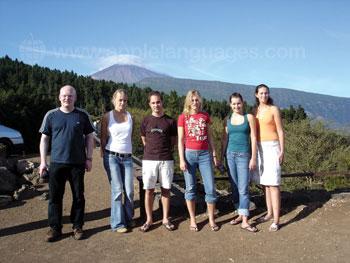 Schüler unserer Schule bei einem Ausflug