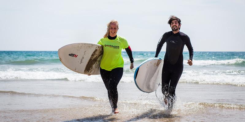 Spanisch- & Surfunterricht