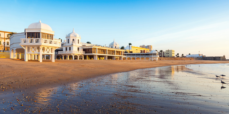 La Caleta, Strand