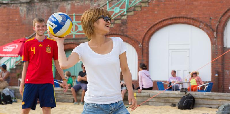 Sport am Strand