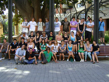 Students on excursion