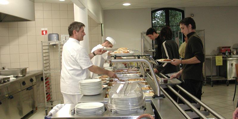 Universitätsrestaurant in Vichy