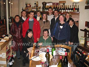 Ausflug zum Weinkeller