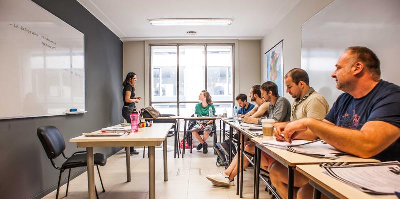 Spanischunterricht in der Schule