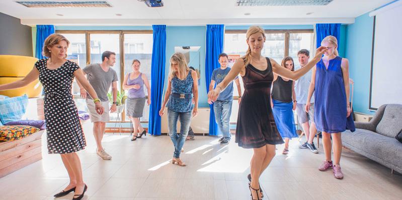 Tangounterricht an unserer Schule