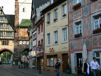 Strassen in Freiburg im Breisgau