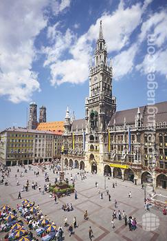 Das historische Zentrum in München