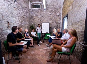 Italienisch in Taormina lernen