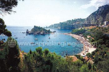 Blick über Taormina